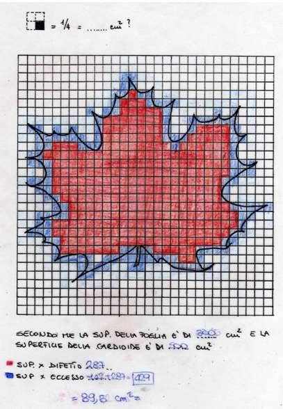 for Calcolo superficie